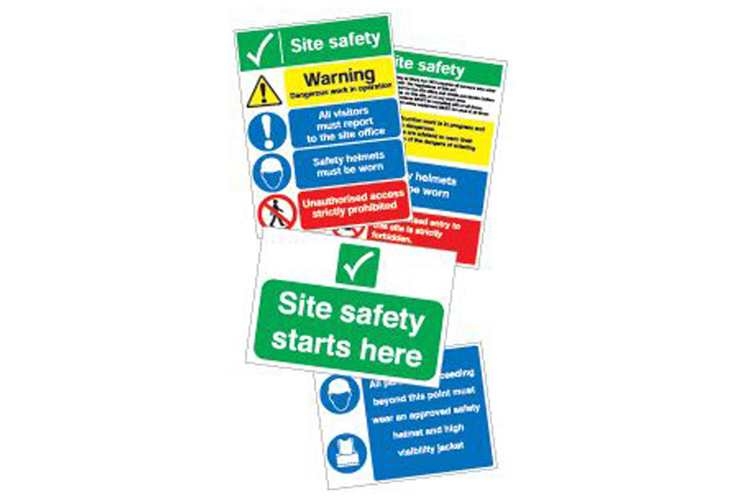 Site Navigation Sign Pack 2