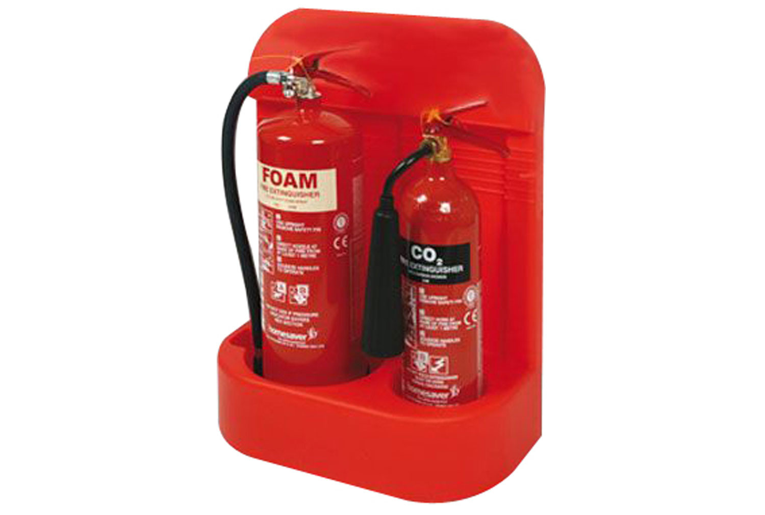 Heavy Duty Extinguisher Stand (Double)
