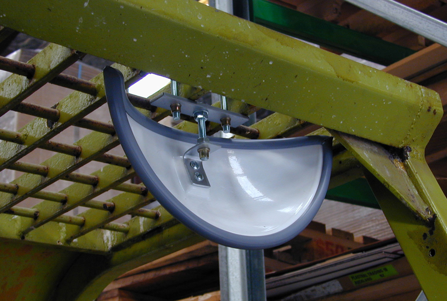 Fork Lift Rear View Interior Mirror 300x150mm