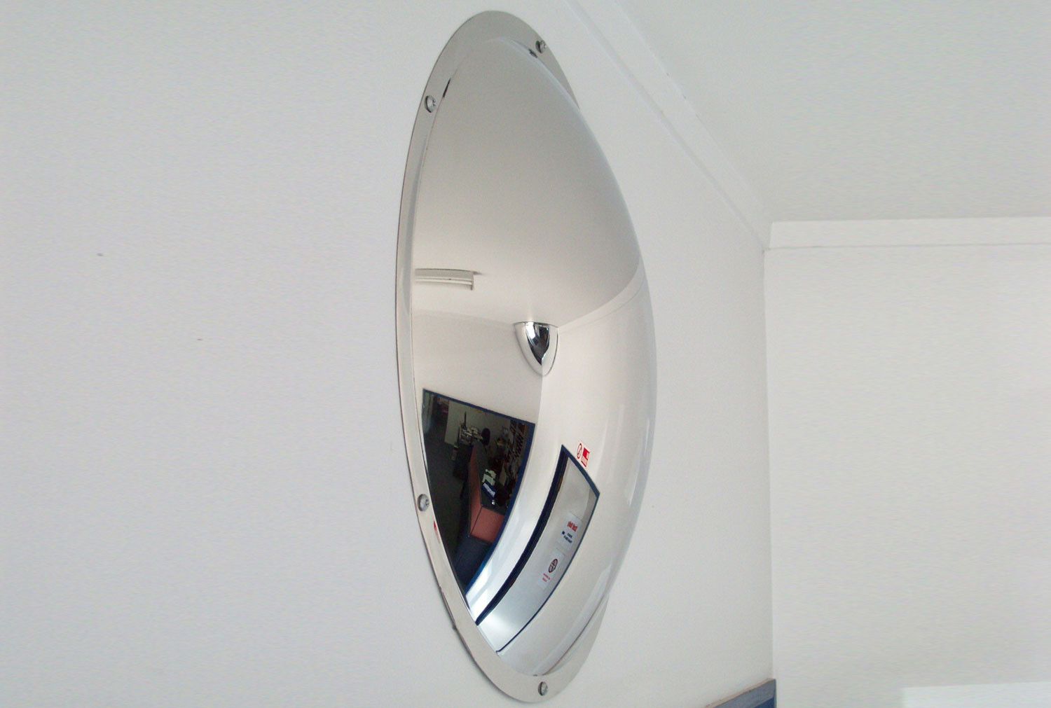 Anti Vandal Stainless Steel Wall Dome