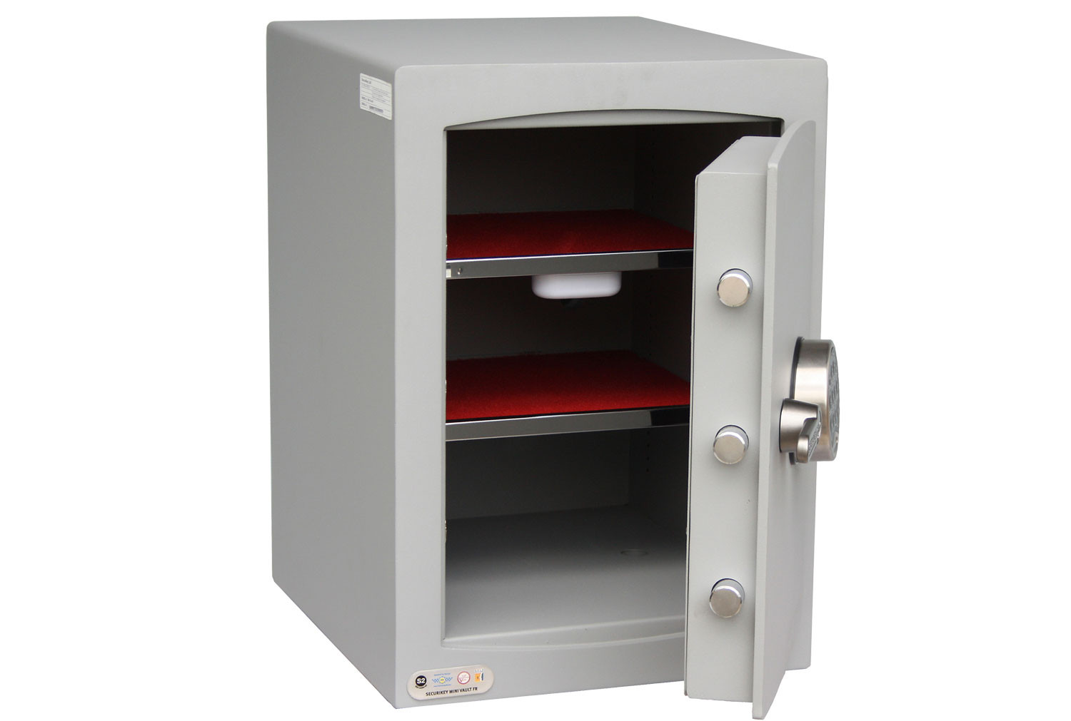 Securikey Mini Vault Gold Cash Safe Size 2 With Electronic Lock (41ltrs)