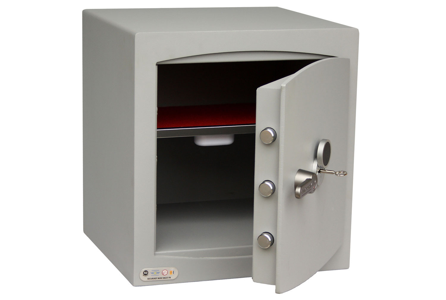 Securikey Mini Vault Gold Cash Safe Size 3 With Key Lock (38ltrs)