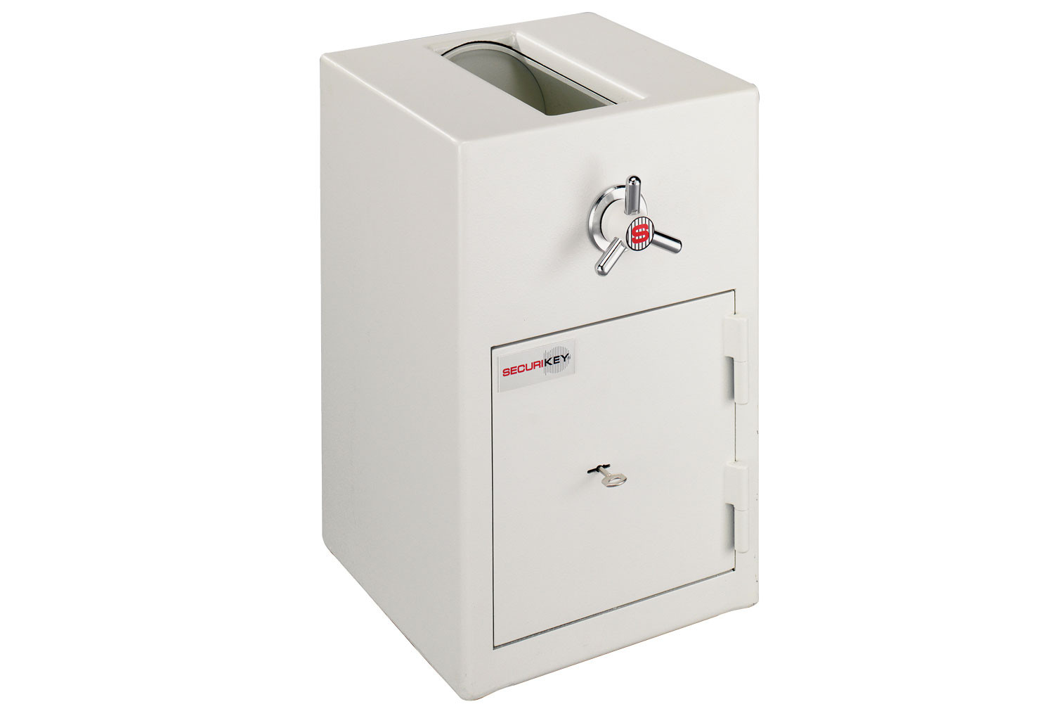 Securikey Steel Stor Deposit Safe With Rotary Trap