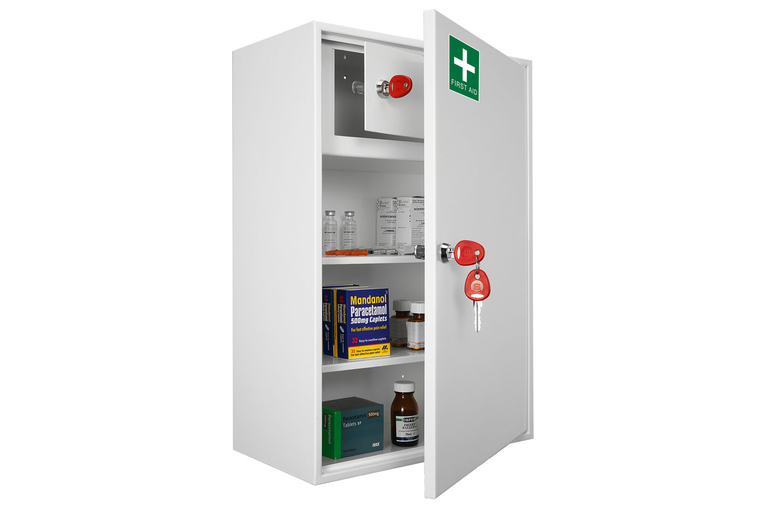 Securikey Medical Cabinet Size 3 With Key Lock
