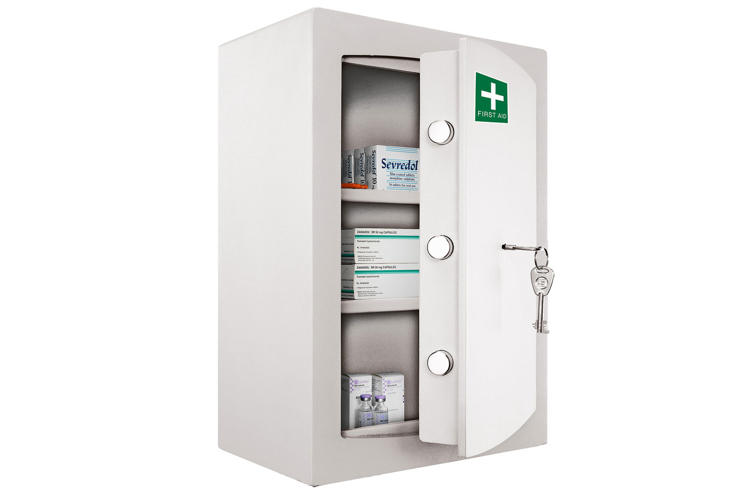 Securikey Medicine Cabinet With Key Lock (30ltrs)