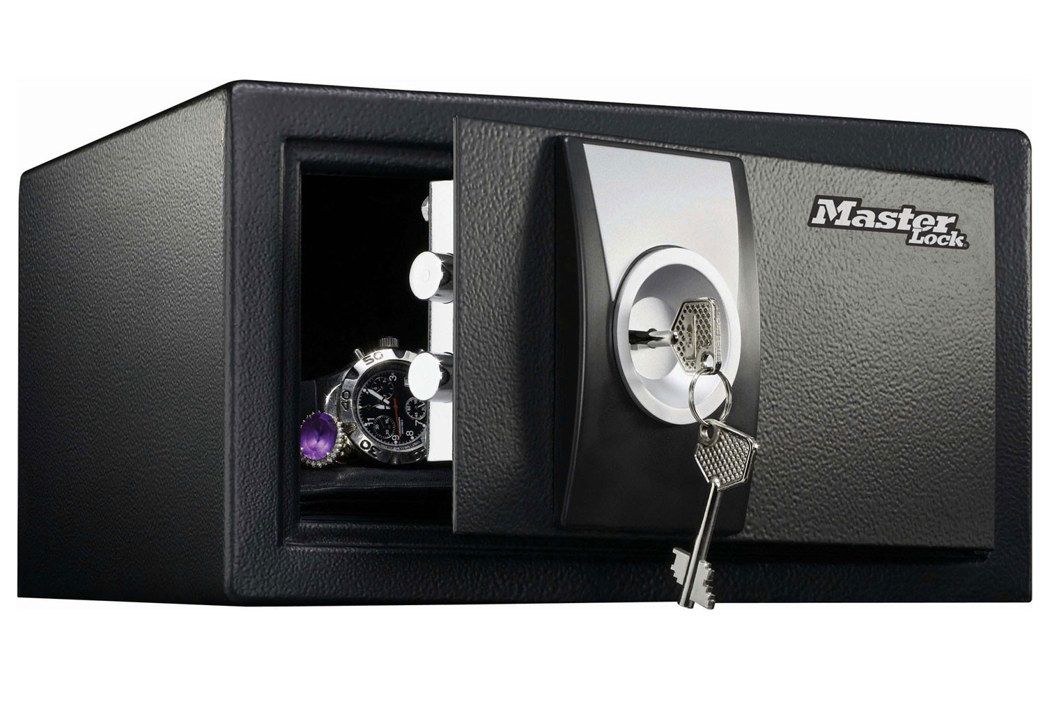 Master Lock X031ML Small Security Safe With Key Lock (10ltrs)
