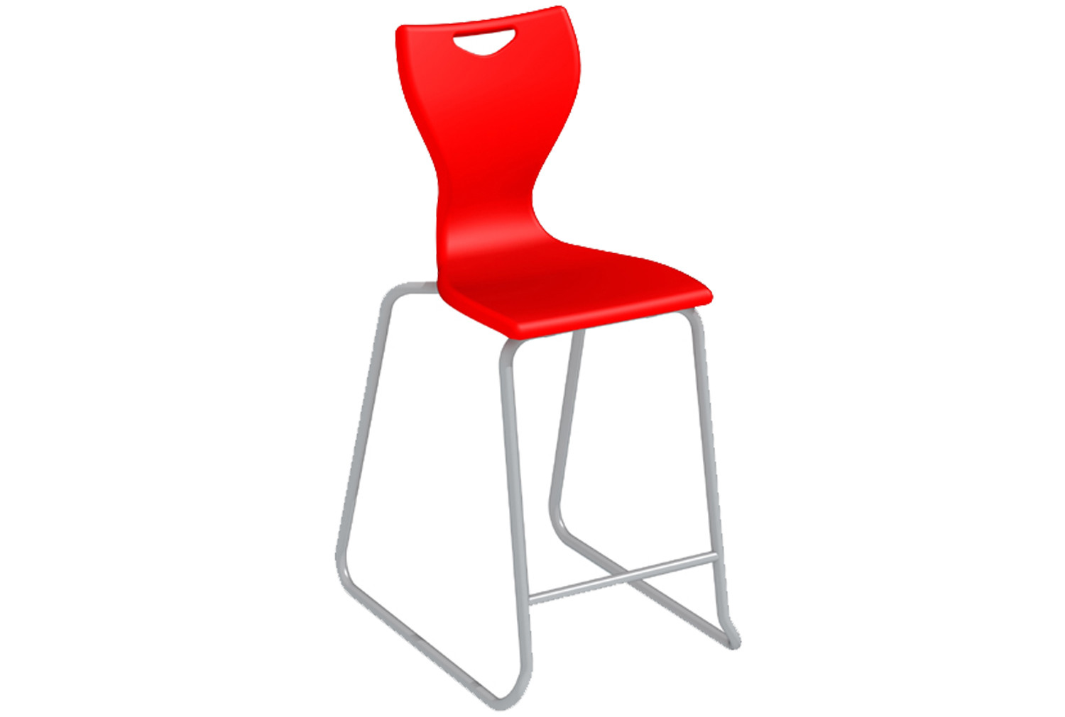 EN Skid Base Classroom High Chair