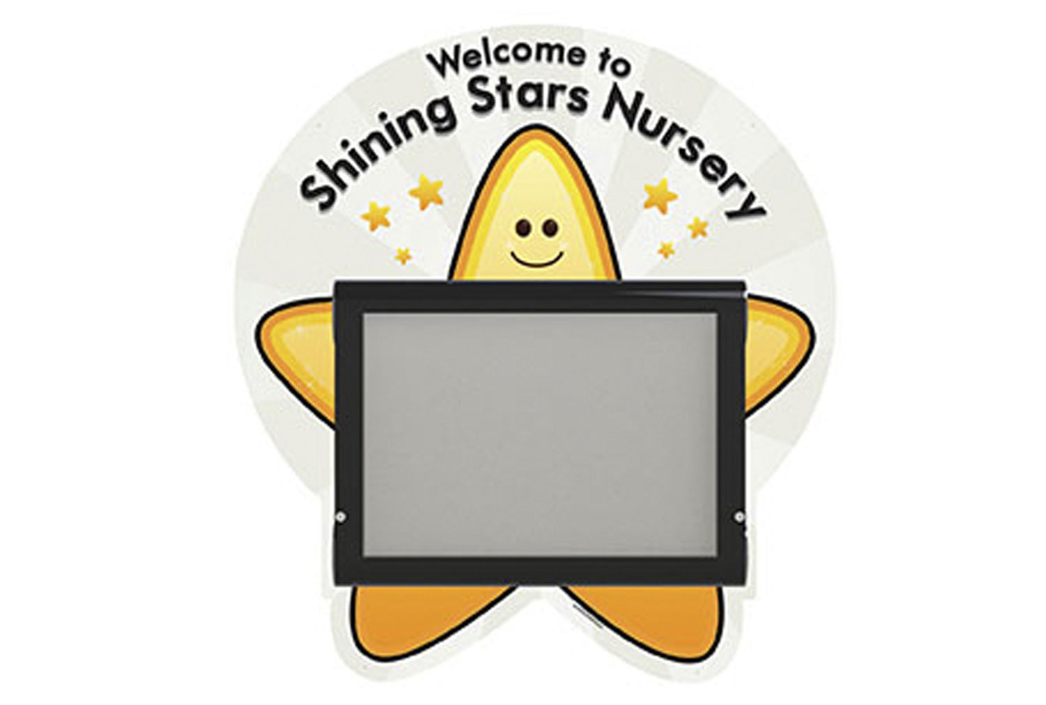Weathershield Wall Mounted Welcome Sign (Star)