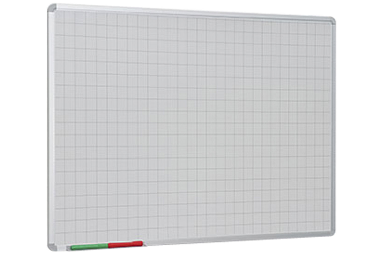 Non-Magnetic Writing Board With 50mm Squares