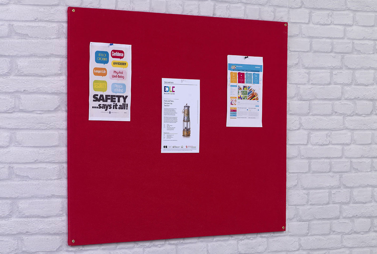 Unframed Noticeboards
