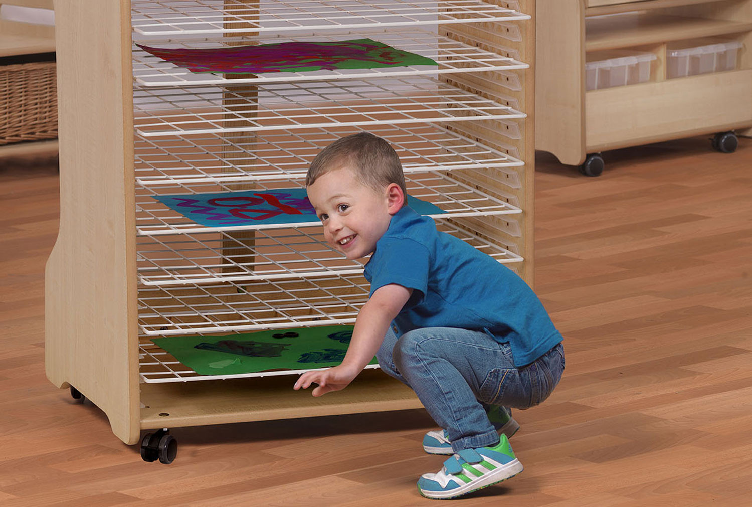Playscapes Drying Rack Unit With 10 Racks