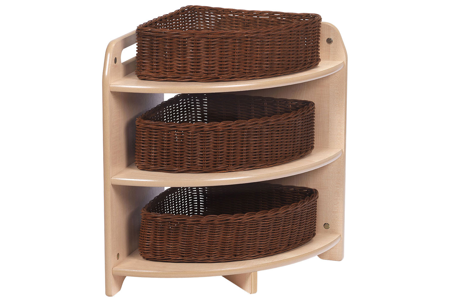 Playscapes Tall 90 Degree Corner Unit With 3 Baskets