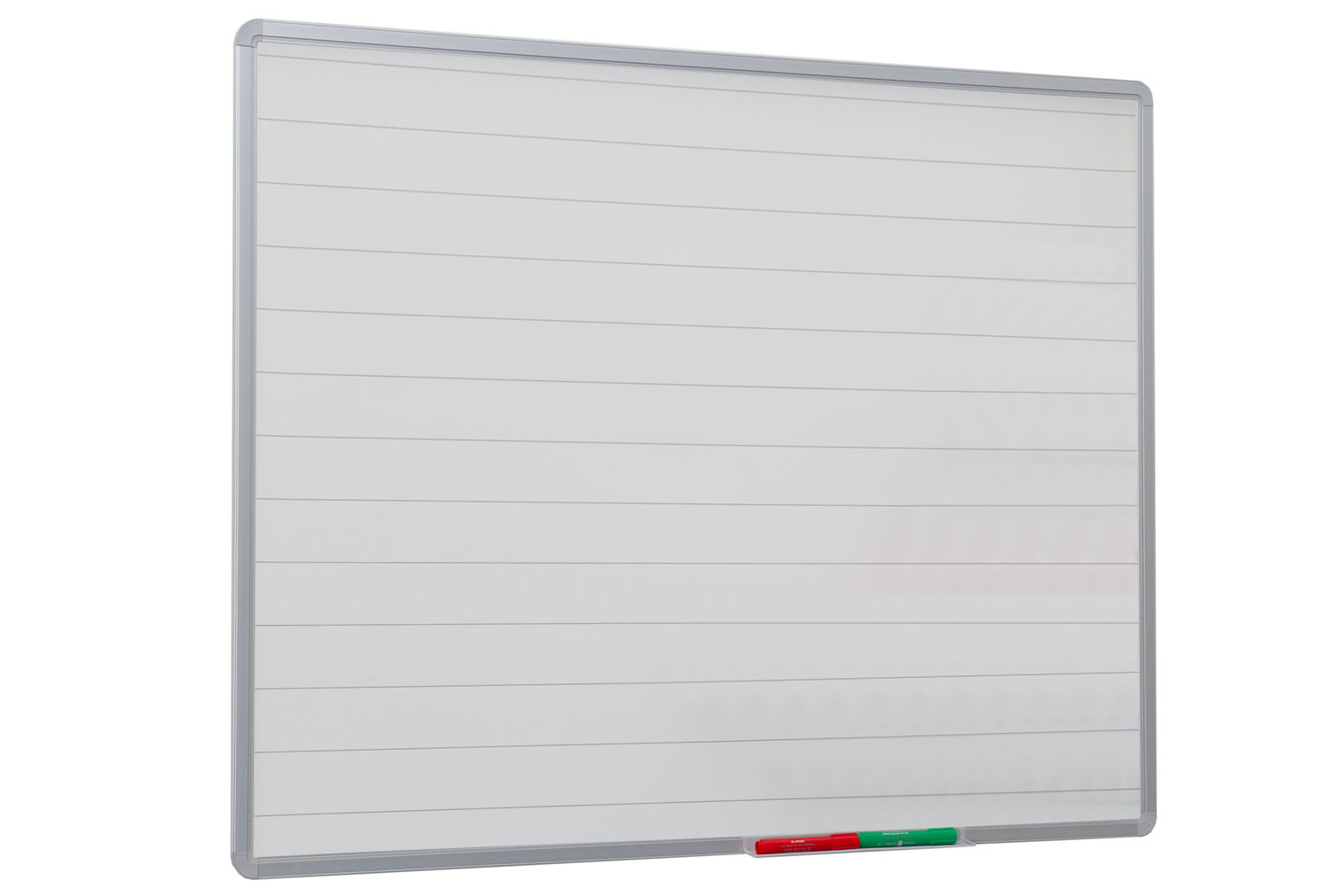 Non-Magnetic Writing Board With 75mm Lines