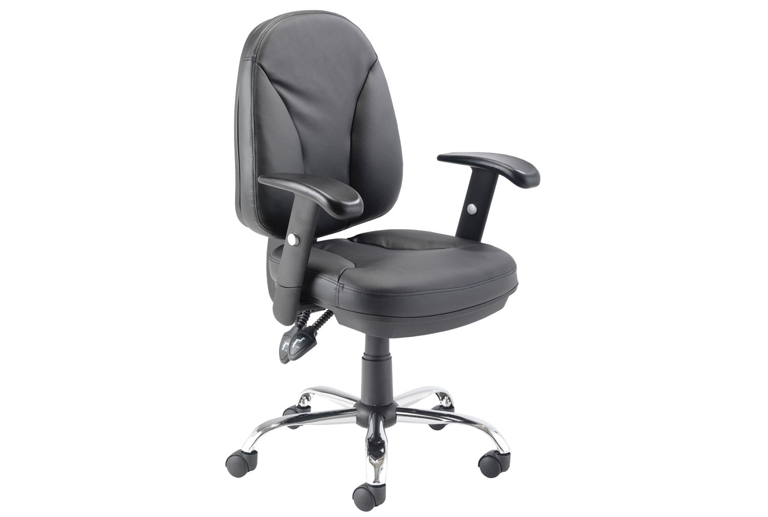 Ashbee Leather Faced Operator Chair