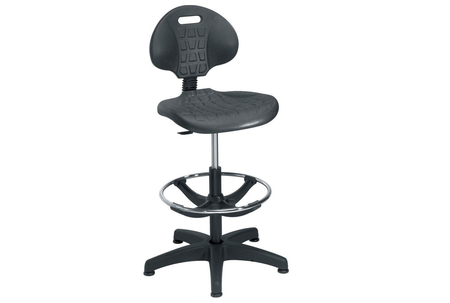 Next-Day Echo Deluxe Industrial Draughtsman Chair