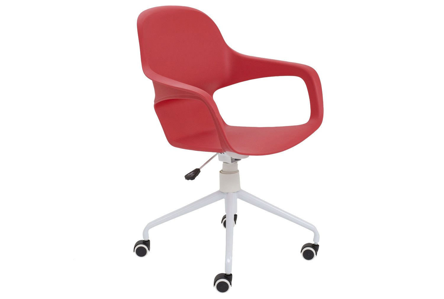 Booth Spider Base Bistro Chair (Red)