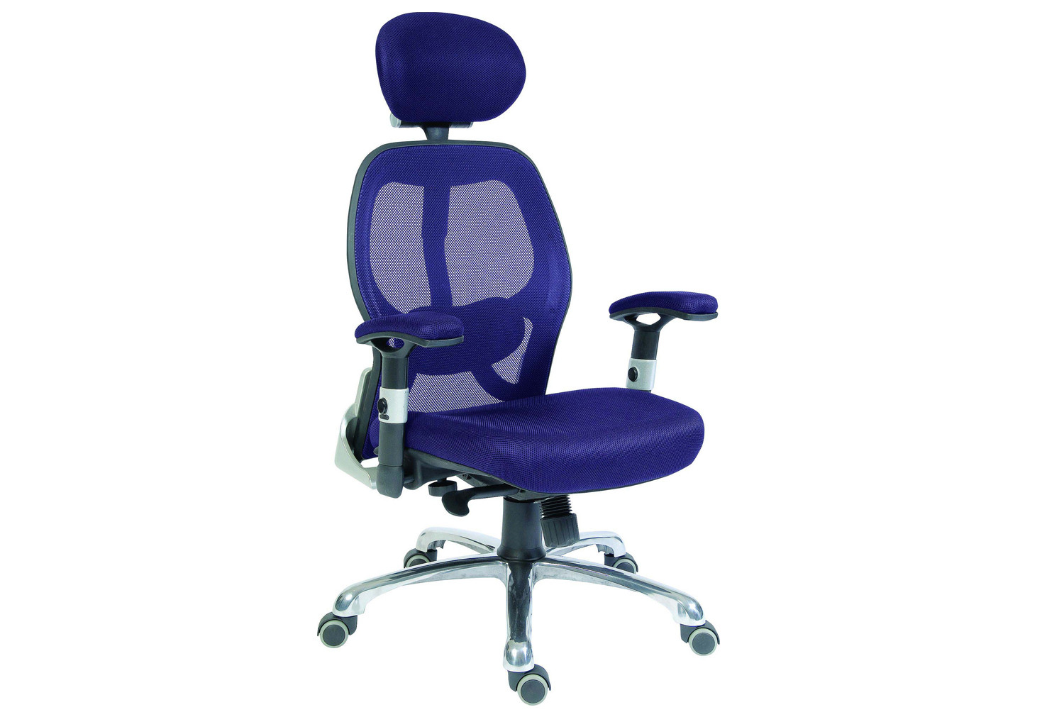 Cobham blue mesh back executive chair