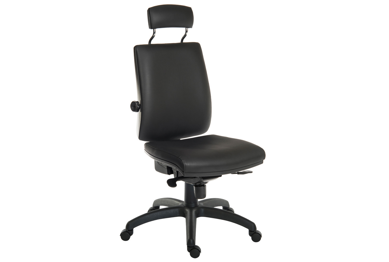 Baron 24HR Ergonomic Chair With Headrest (PU)