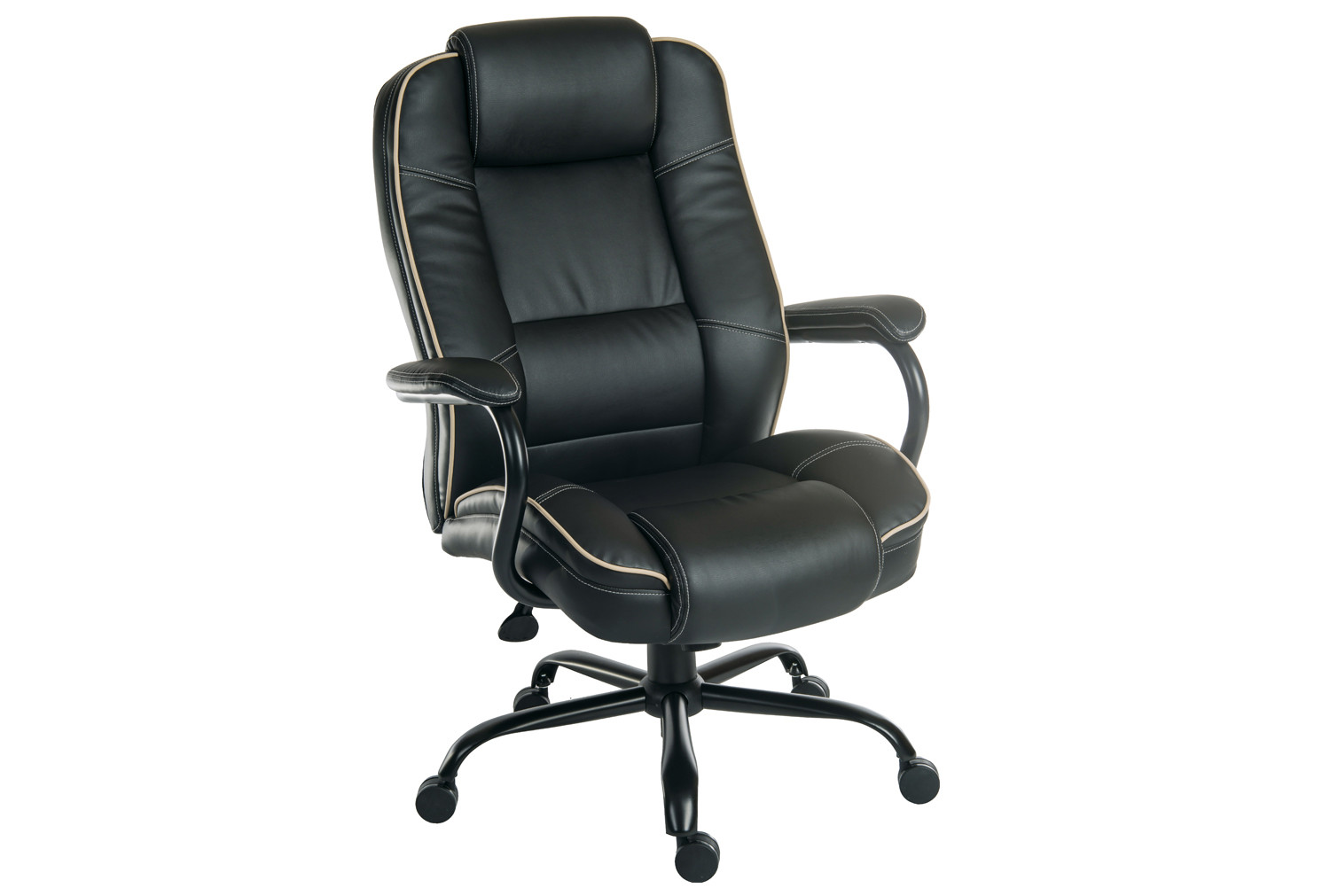 Colossal Duo Executive Leather Chair Black