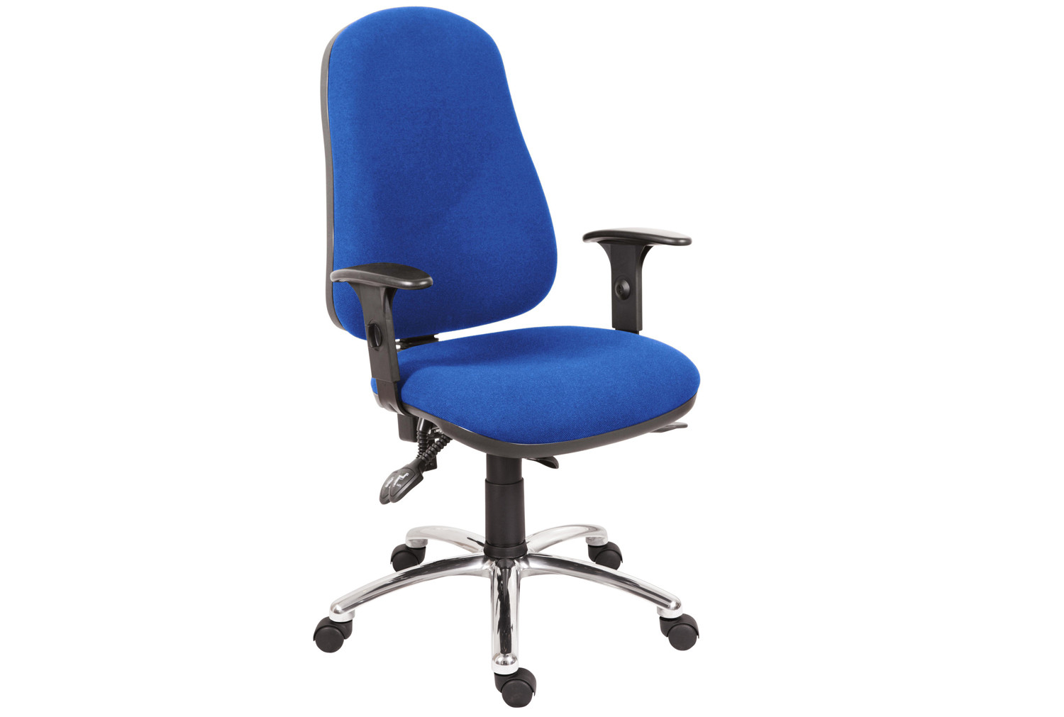 Comfort Ergo Operator Chair With Chrome Base (Fabric)