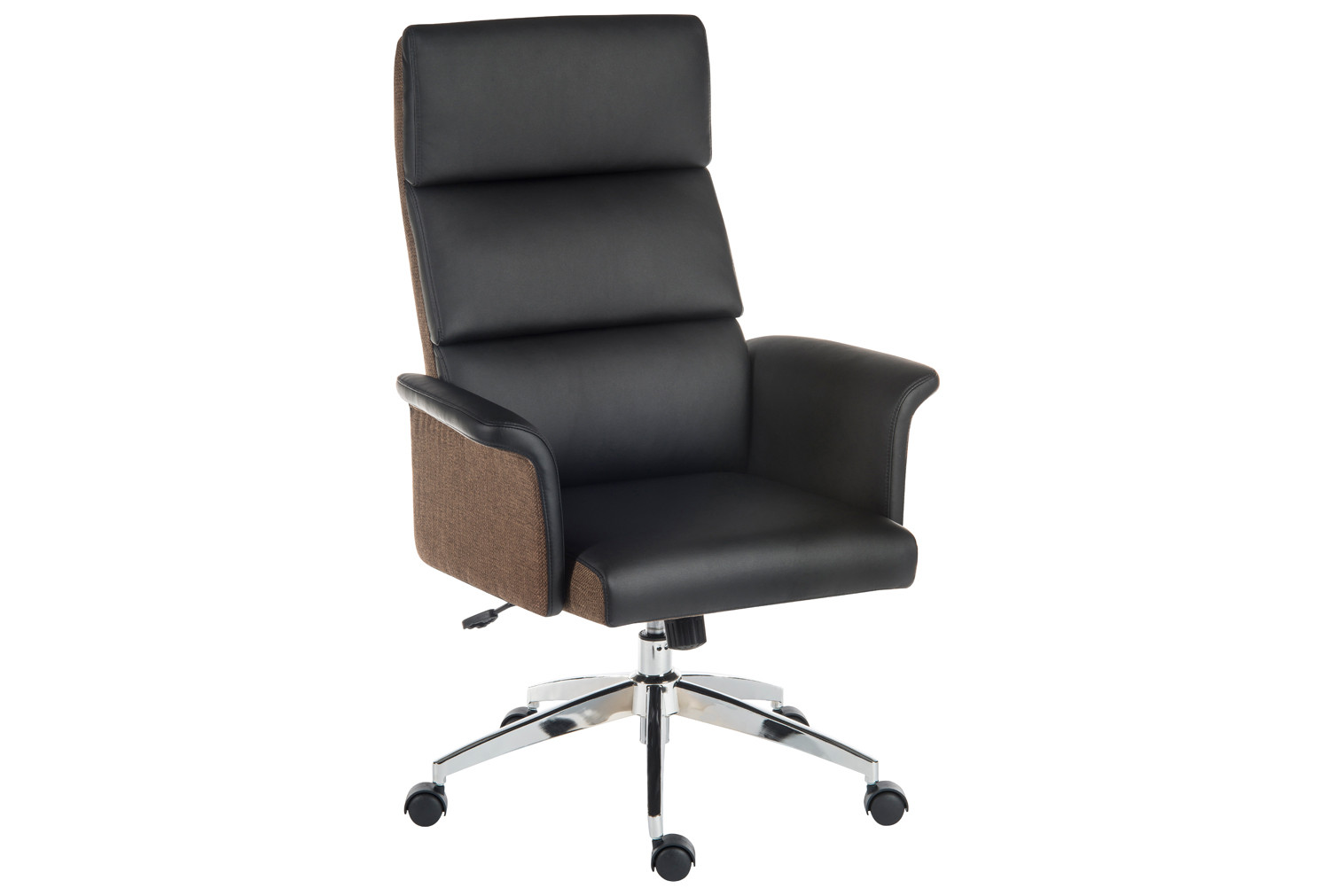 Panache High Back Executive Leather Chair Black