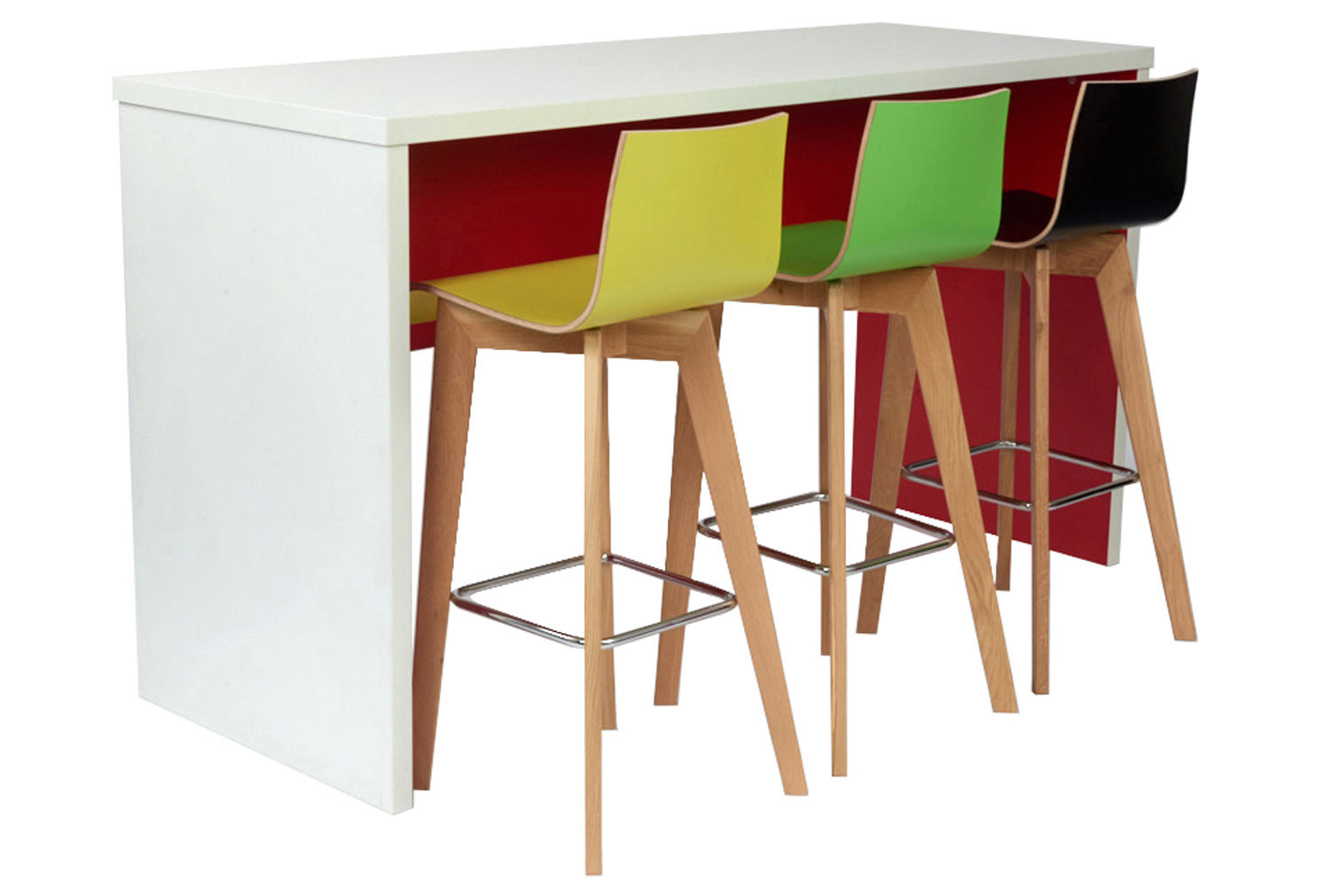 Layson Bench Poseur Table