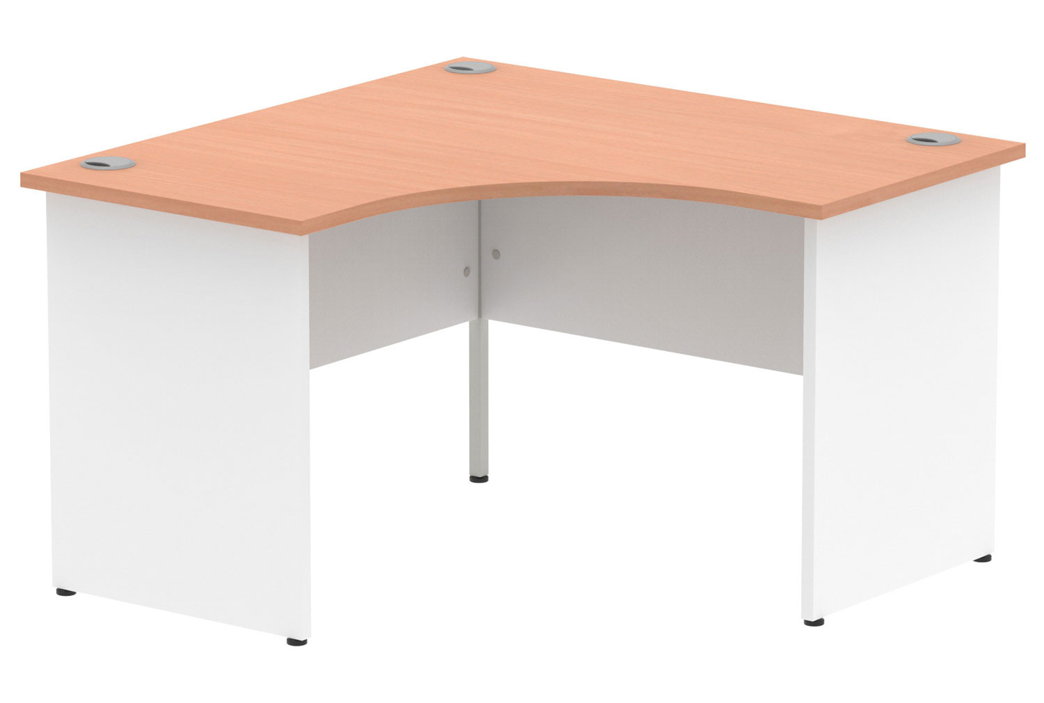 Vitali Duo Panel End Corner Desk
