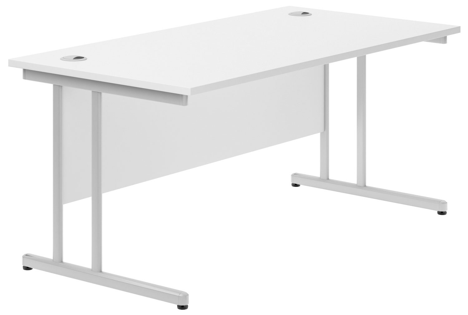 Next-Day Solero C-Leg Rectangular Desk