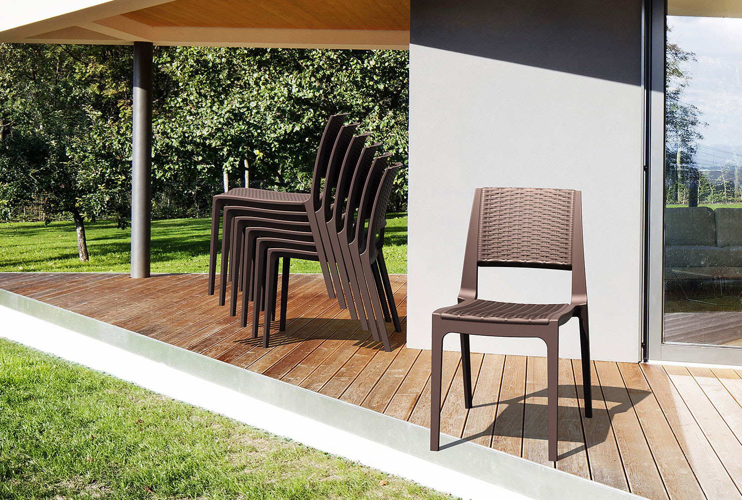 Pack Of 4 Valais Side Chairs