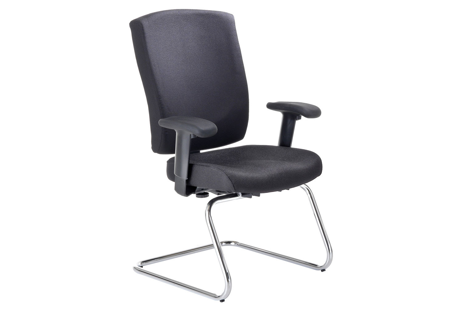 Aire Fabric Visitor Chair With Height Adjustable Arms