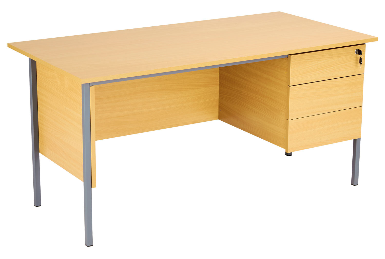Primo Clerical Desk With 3 Drawers