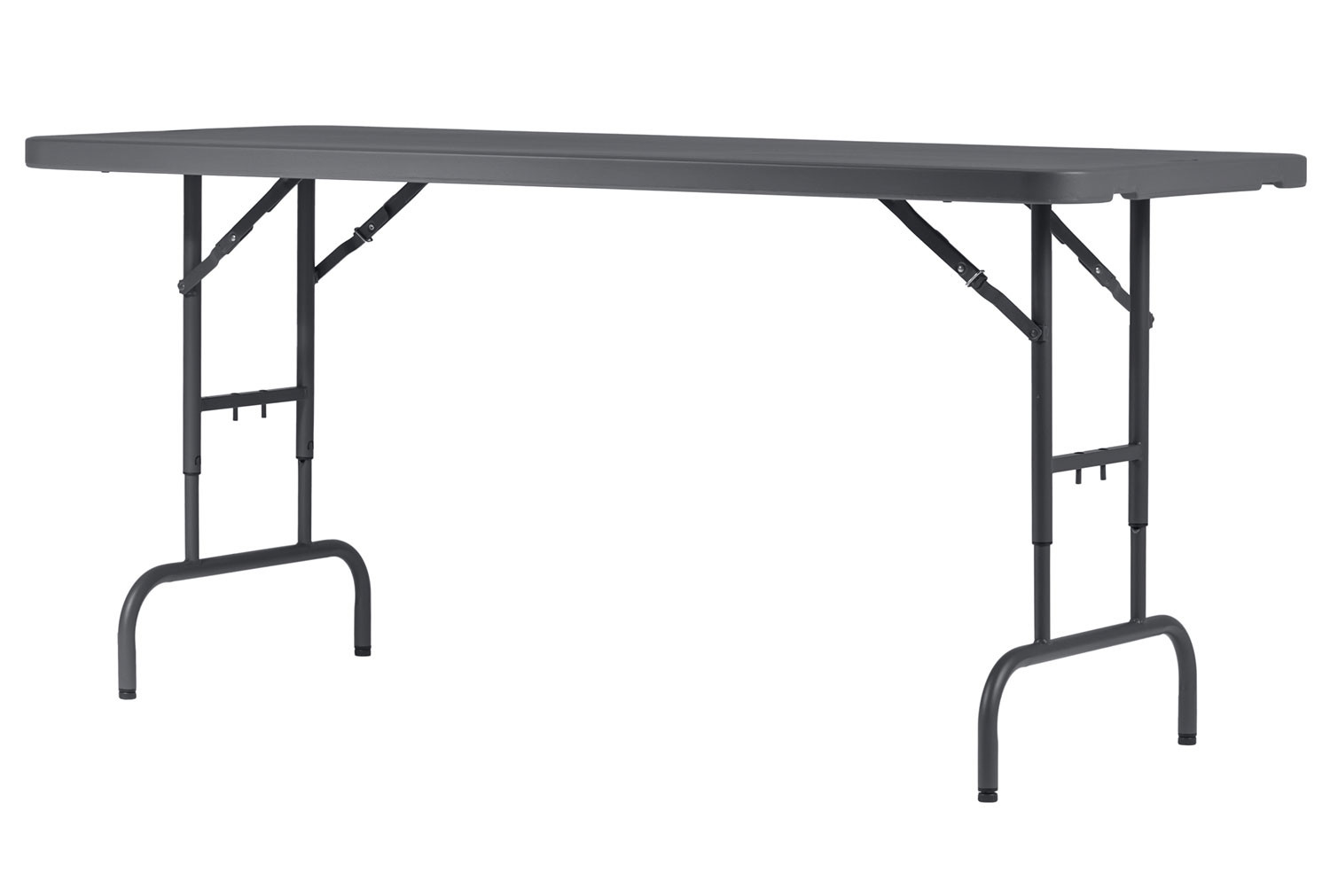 Valence Height Adjustable Rectangular Folding Table Furniture At Work