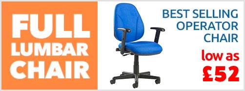 Full Lumbar Operator Chair
